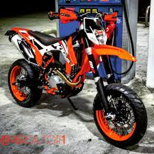 ktm supermoto finished