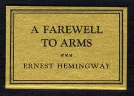 a farewell to arms st edition st printing ernest hemingway a farewell to arms 1st edition 1st printing