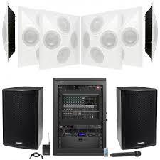 auditorium sound system with 6 sd4