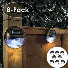 l and stick solar lights led fence lights solar fence light outdoor led fence lights not