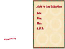 printable christmas invitations free holiday party invitations free christmas invitations free