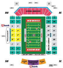 Nebraska Cornhuskers Stadium Seating Chart Tickets Parking University Of New Mexico Lobo Club