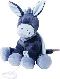 <b>Игрушка мягкая Nattou Musical</b> Soft toy Alex & Bibou Ослик ...