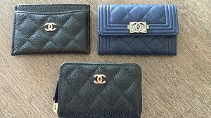 chanel zip coin purse. chanel classic and boy coin purse comparison! zip