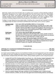 Private Banker Resume Example - http://www.resumecareer.info/private