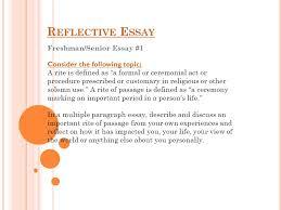 freshman senior essay ppt video online freshman senior essay 1
