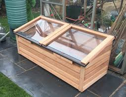 coldframes with safety glass
