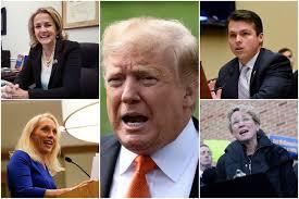 Donald Trump impeachment vote splits ...