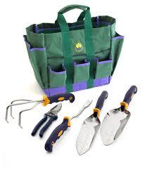 garden bag. 5-Pc. Garden Tool Set W/FREE Bag