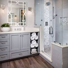 master bathroom designs. Transitional Master Gray Tile And Subway Medium Tone Wood Floor Bathroom Photo In San Diego Designs G