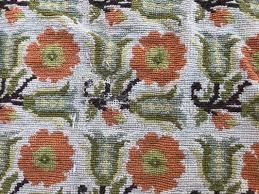 large vintage aubusson needlepoint rug 12