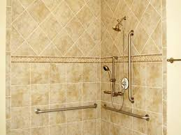 Small Picture tiling bathroom walls Accessible Bathroom Tiled Showers Designs