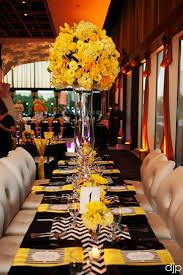 283 best Black \u0026 yellow weddings/reception images on Pinterest ...