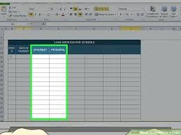 Microsoft Excel Amortization Schedule Template Amortization Template ...