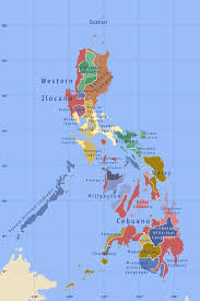 Philippine Languages Comparison Chart Languages Of The Philippines Wikipedia