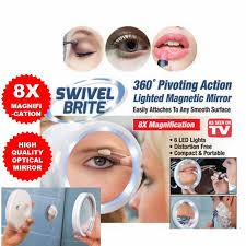 swivel brite 8x magnification make up