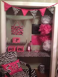 Good Pink Zebra Print Bedroom Girly