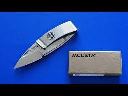 <b>Нож</b>- <b>зажим</b> для купюр, <b>Mcusta</b> - YouTube