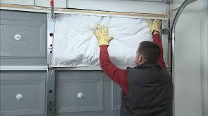 insulating a garage doorJames Dulley Think about insulating garage doors instead of