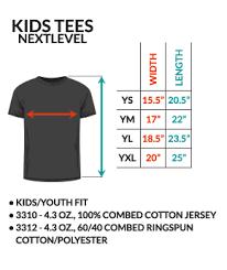 Next Level Kids Size Chart 56 27 New Day Osu V Michigan T Shirt Ourmerch Store