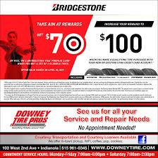bridgestonetoo 100getwhen you make a qualifying tire purchase withby mail on a bridgestone visa prepaid