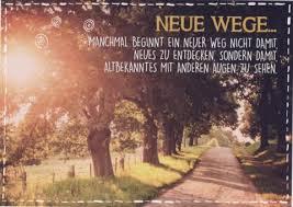 Spruch Postkarte Lebensweisheit Neue Wege Sprüche Postkarten