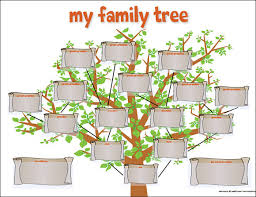 Family Tree Picture Template Free 56 Family Tree Templates In Word Apple Pages Excel
