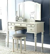 makeup vanity set with lighted mirror table full size of bedroom modern bench and