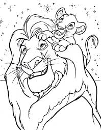 Small Picture Simba Coloring Pages fablesfromthefriendscom