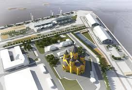 Губернатор Шанцев рассказал что будет на Стрелке опрос  Архитектурная концепция реконструкции и реновации территории Стрелки в Нижнем Новгороде Дипломный проект Дарьи Ивановой