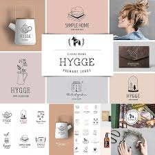 Free Premade Logo Designs Hygge Premade Logo Collection Free Download