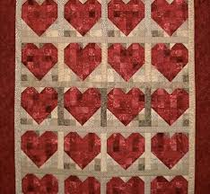 The Best Heart Quilt Designs & Patterns for Valentine's Day & Bundle Hearts Pattern Adamdwight.com
