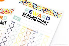 Free Printable Reward Reading Chart Printable Crush