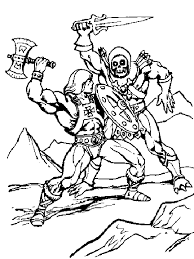 He Man Coloring Pages He Man Colouring Pages Page 2 To Print This