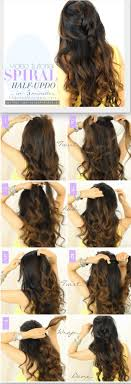 Half Up And Down Hairstyles For Prom Hairstylo