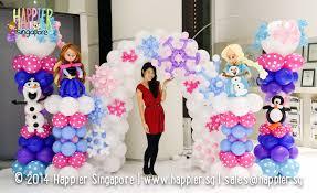 Princess Balloon Decoration Frozen Inspired Balloon Decorations Happier Singaporejpg