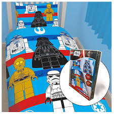 lego star wars sides rotary single duvet cover set