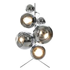 tom dixon light tripod stand mirror