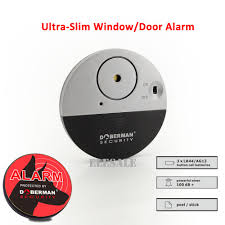 Doberman Security Ultra Slim Design Security Alarm Us 7 11 11 Off New Se 0106 Ulrta Slim Door Window Magnetic Sensor Alarm With Warning Sticker For Home House Apartment Store Office Security In