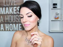 my bridal makeup brunette beauty ger
