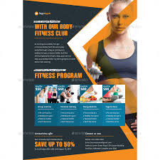 The Flyer Ads Gym Fitness Club Flyer Ads