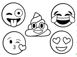 Emoji Coloring Pages To Print 3d Imprimir Sobres Mandalas