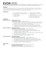 Tech Resume Templates Tech Resume Format Electronics Resume Sample ...