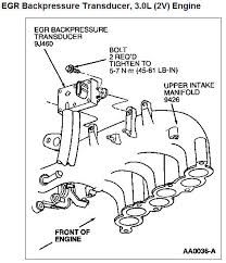 egr valve stuck open, bolts rusted on taurus car club of america EGR Valve and P0446 at 04 Freestar Egr Valve Wiring Diagram