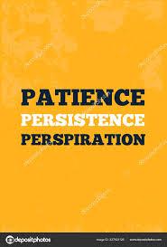 Patience Inspirant Modèle Affiche De Motivation Créative Citation