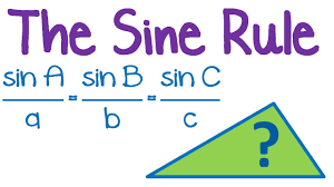 math laws maths tutorial trigonometry law of sines sine rule youtube