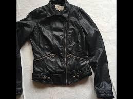 trafaluc zara las bike jacket faux leather sz 10 used 10