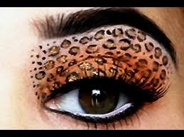 y leopard eyes makeup tutorial