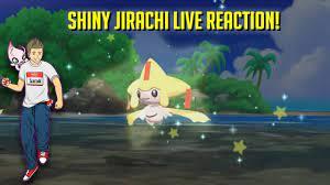 SHINY JIRACHI LIVE REACTION POKEMON SUN SOS RANDOMIZED HUNTING! - YouTube