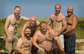 Gay bears in nature